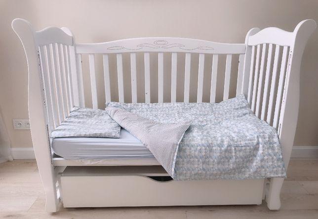 Продам детскую б/у кроватку Верес в отличном состоянии