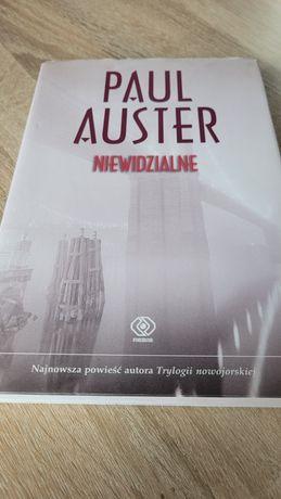 Paul Auster Niewidzialne oprawa twarda