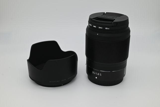 Nikon Nikkor Z 35mm/1.8 Hoya UV ideał gwarancja