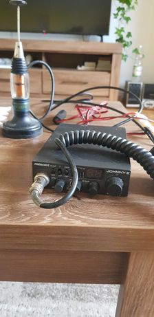Radio CB President Johnny II + kable + antena