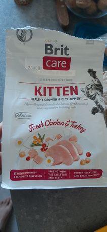 Karma Brit Care KITTEN dla kotków indyk i kurczak