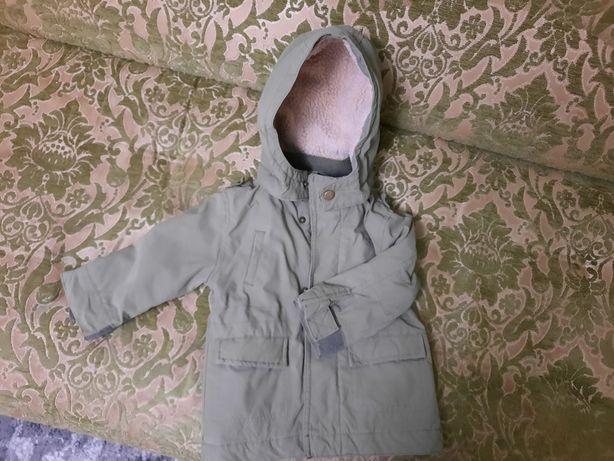 Куртка  на хлопчика парка  весна -осінь lupilu