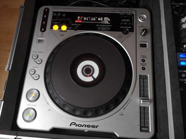 2xPioneer Cdj 800 mk2 (idealne)