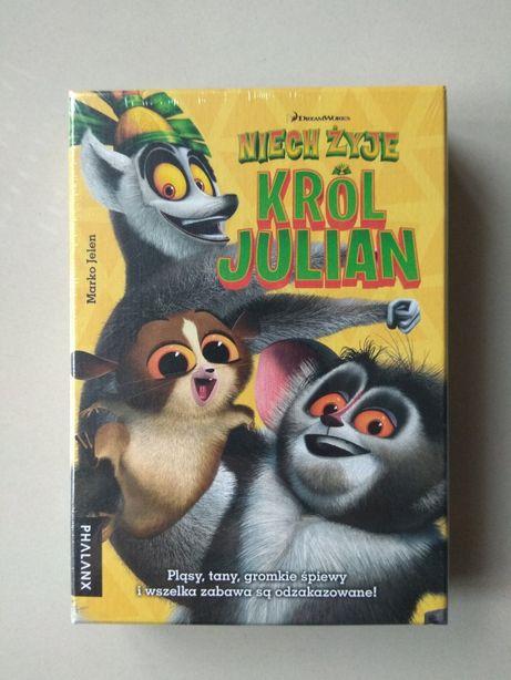 Nowa super gra Niech żyje Król Julian wysyłka do paczkomatu tylko 1zł!