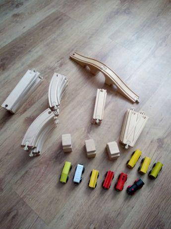 Drewniane tory Ikea