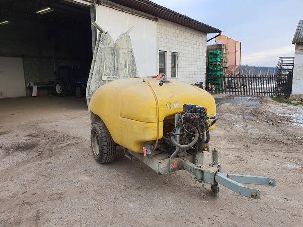 Opryskiwacz sadowniczy ślęza pilmet 1500l elektrozawory zaczep skrętny