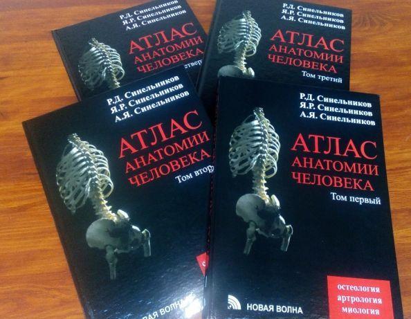 Анатомии человека атлас