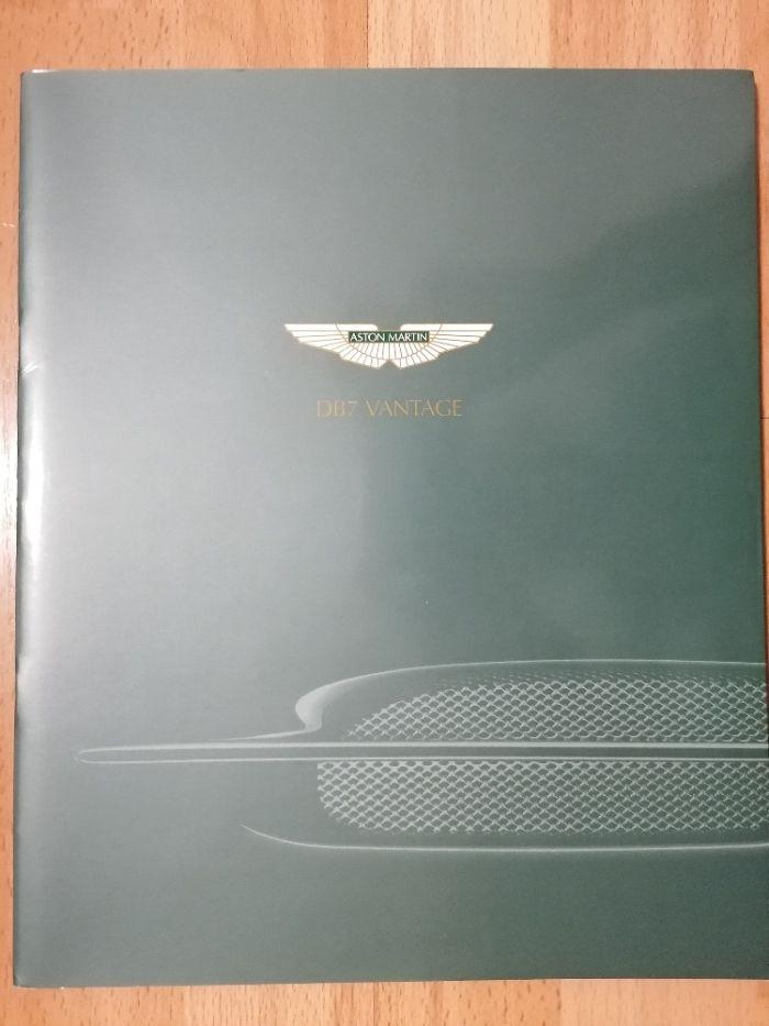 Prospekt Aston Martin DB7 Vantage -RAR- Jawiszowice - image 1