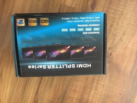 Rozgałęźnik / spliter HDMI 4K / UHD / 3D / HDCP