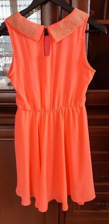 Piękna elegancka sukienka r. S.M TYLKO 30zł!!!
