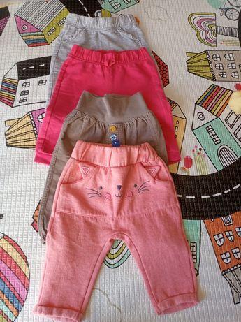 Zestaw 4 par spodni dla dziewczynki