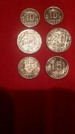 Монеты СССР 1932-1956