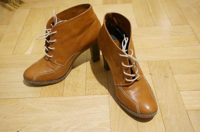 Шкіряні осінні черевики , ботинки, кожаные сапоги
