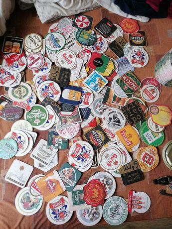 Podkładki pod piwo 150sztuk  20letnia kolekcja  PL, NRD, DDR
