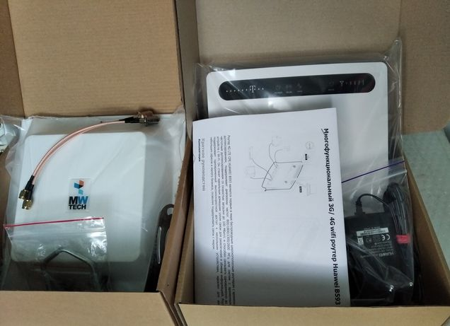 3G/4G модем / маршрутизатор Wireless Huawei B593u-12