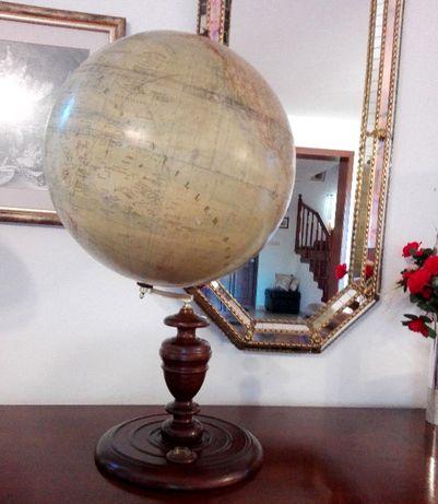 ERD GLOBUS Berlin opracowany Dr Henry Lange oryginał 135 lat