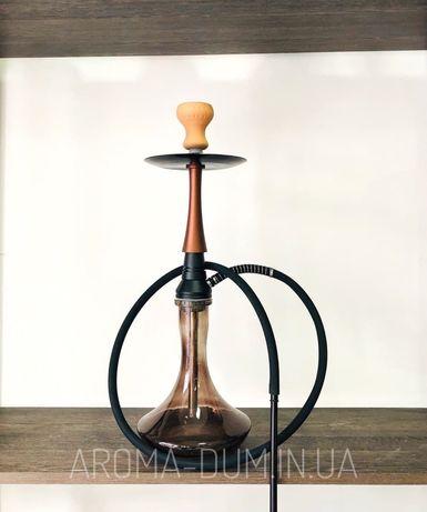 Кальян Yahya Monk коричневый + подарок