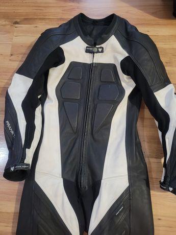 Kombinezon strój motocyklowy, skóra, motor, garb