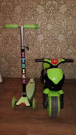Самокат беговел толокар мотоцикл