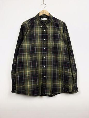 BARBOUR XL Classic Tartan мужская рубашка в клетку burberry