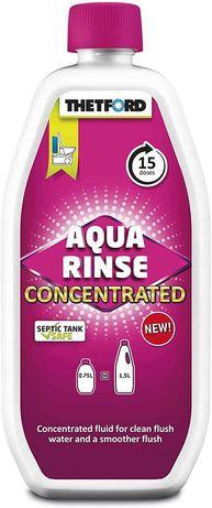 Liquido concentrado sanita quimica aqua rinse thetford 750ml caravana