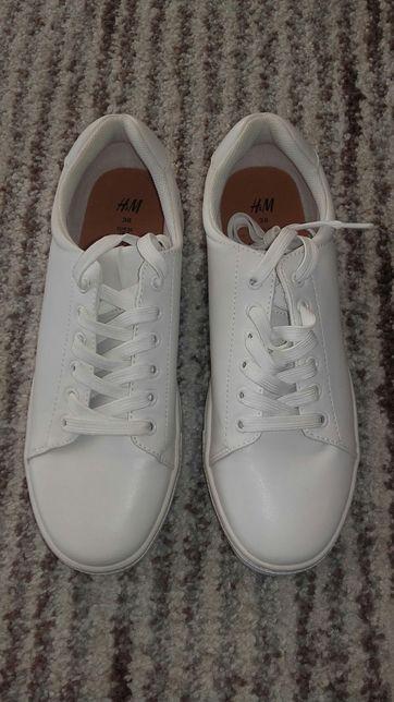 Białe buty sportowe H&M rozm.38