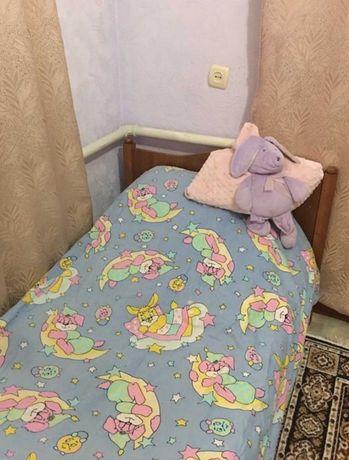 Кровать и постельное для принцессы!