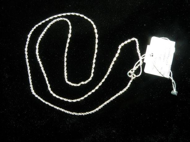 Серебряная цепочка 60см вес 4,07грамм