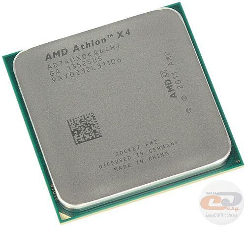 AMD Athlon x4 740 Quad Core Processor 3.4 Ггц