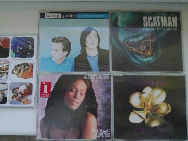 Płyty CD EP-ki 17 szt