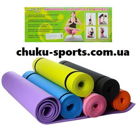 Коврик для йоги Profi EVA каримат йога-мат для фитнеса спорта