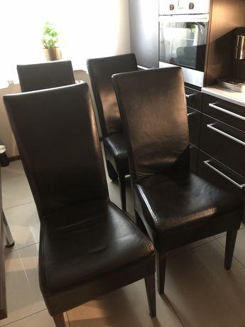 Krzesło -krzesła ze skóry ekologicznej