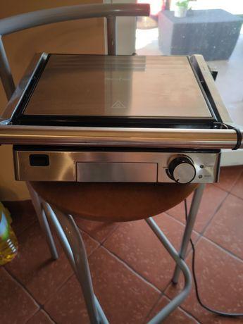 Duży grill elektryczny 2000W 3lata gwarancji Lidl SilverCreast