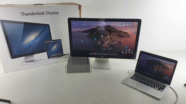 Монитор Apple Thunderbolt Display A1407 27 + подставка mac mini 2К