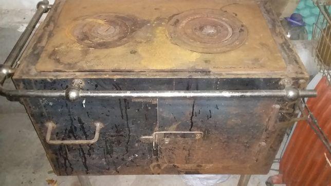буржуйка-печь с плитой и духовкой