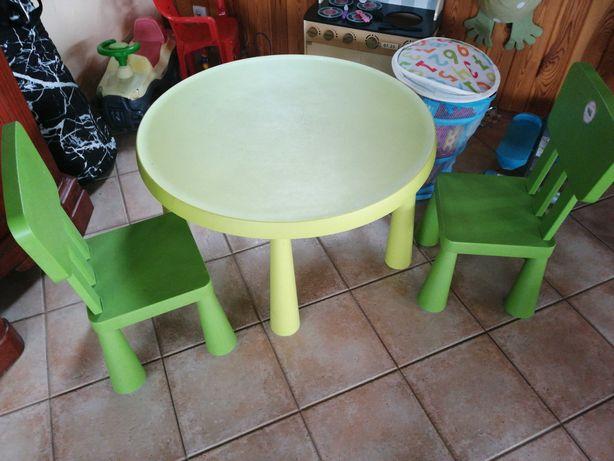 Stolik i krzesełka dziecięce
