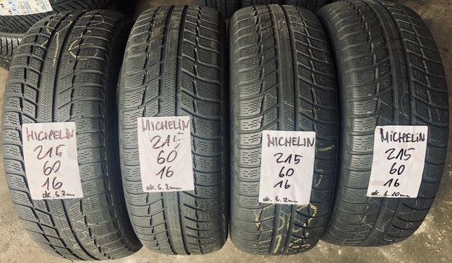 Opony zimowe 215/60/16 Michelin. 6.20mm, montaż / wysyłka