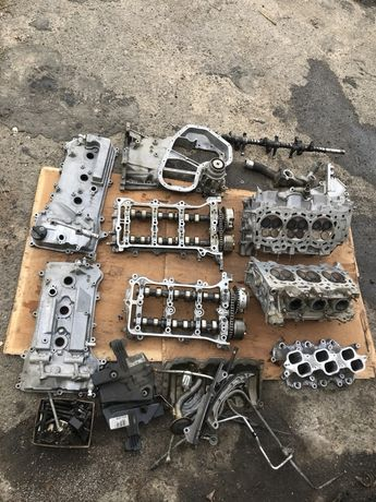Разбор двигатель toyota camry 40 3.5 2gr-fe гбц распредвал ванос