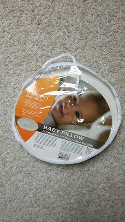 Poduszka niemowlęca profilowana Qmed na odkształcenia główki