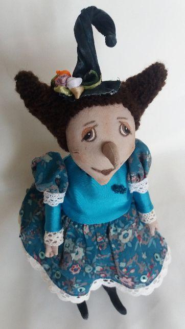Интерьерная игрушка Ведьмочка