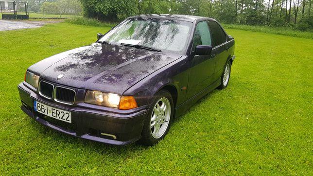 BMW 318i e36 mpakiet x2 ori alu 16 klima techno-violett zamiana gruz!!