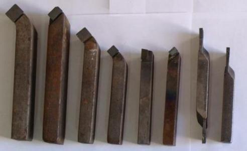 Набор токарных резцов (по металлу)