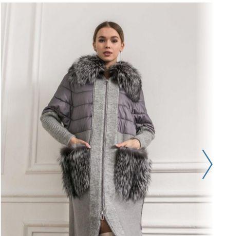 Пальто с альпаки Турция. Новое