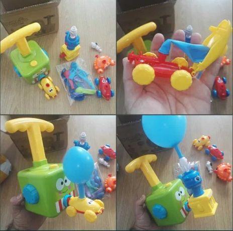Zabawka edukacyjna angry birds pojazdy na balony