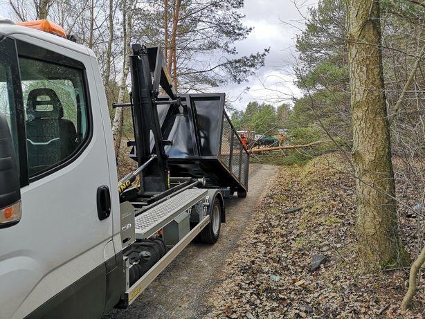 Przygotowanie terenu Biomasa Karczowanie Samosiejki Wycinka Drzew