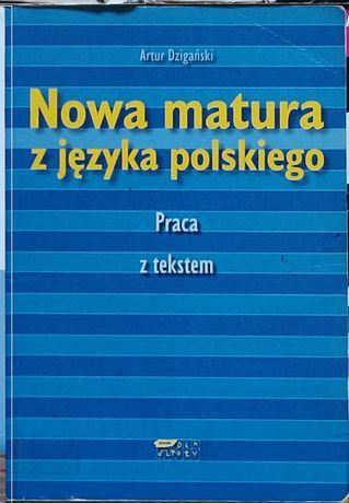 Nowa matura z języka polskiego Praca z tekstem Artur Dzigański