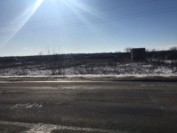 Продам земельный участок у трассы