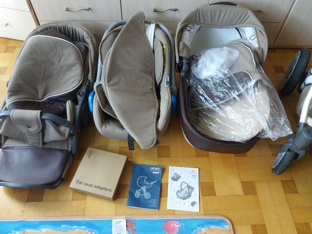 wózek dziecięcy anex sport 3w1