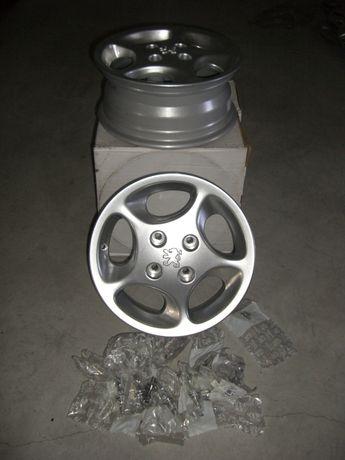 "4 Jantes de 14"" polegadas e pernes Peugeot 206 GTI / 207"