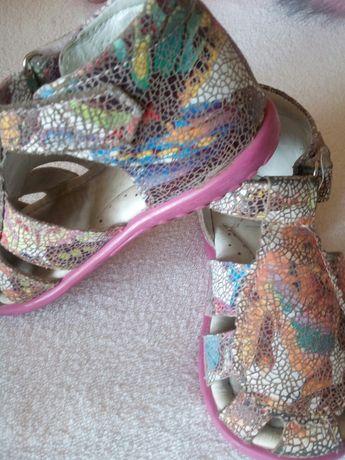 Emel sandałki buciki skóra